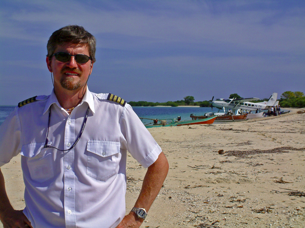 Royal Order Member -- John Goulet on scene in Indonesia